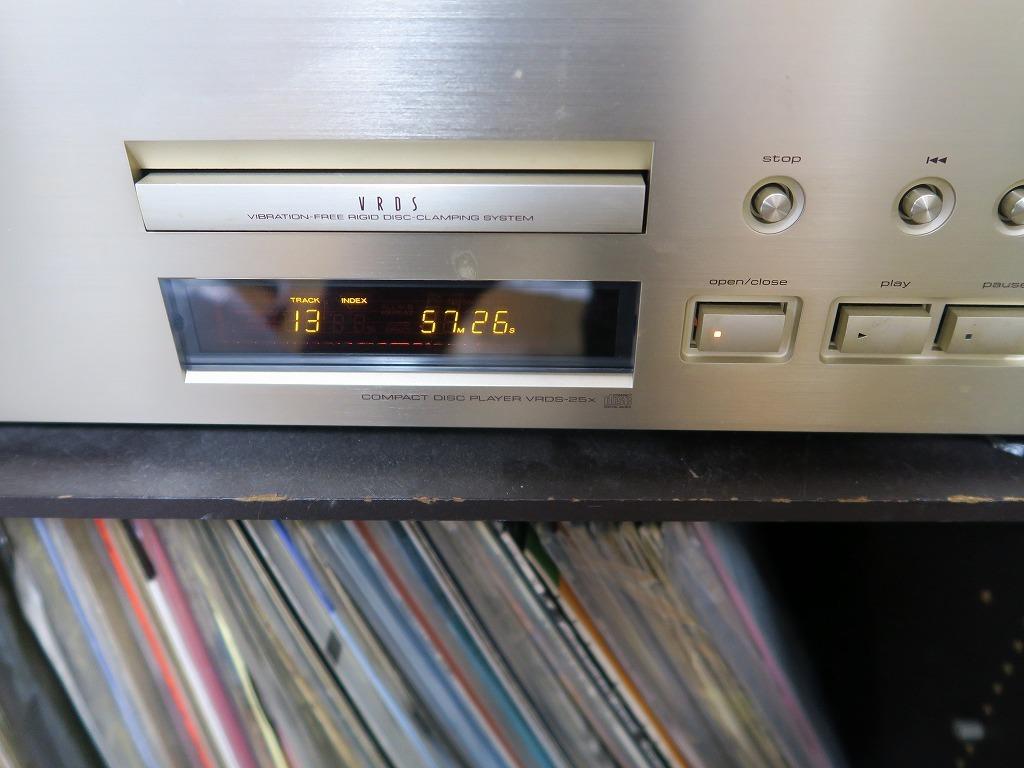 【ジャンク】TEAC CDプレーヤー VRDS-25 Xティアック_画像5