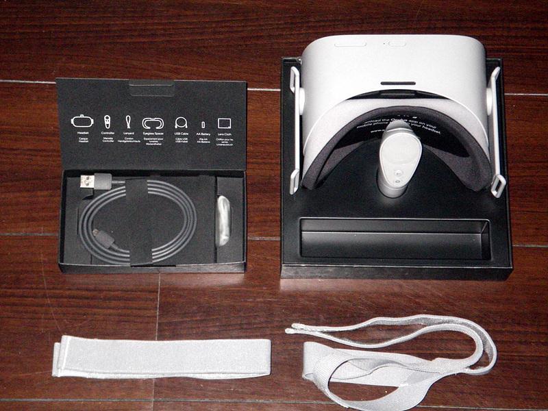 【美品】 oculus GO オキュラス 64GB 本体 + 接顔パーツ(フィット) + ケース_画像2