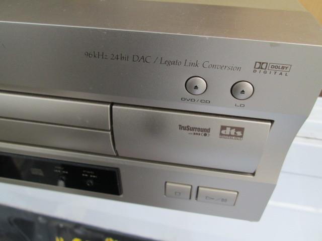 1円スタート★Pioneer DVD LD PLAYER DVL-919★LaserDisc LD-G リモコン付き★_画像2