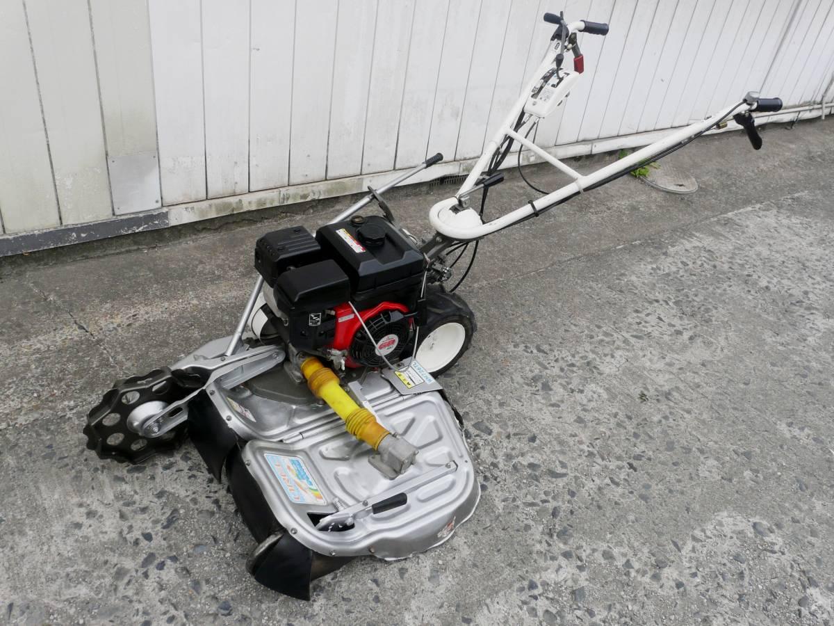 オーレック 自走式2面畦草刈機 ウィングモア WM726TL 滑りにくい2WD バックギア付き最大6.3馬力