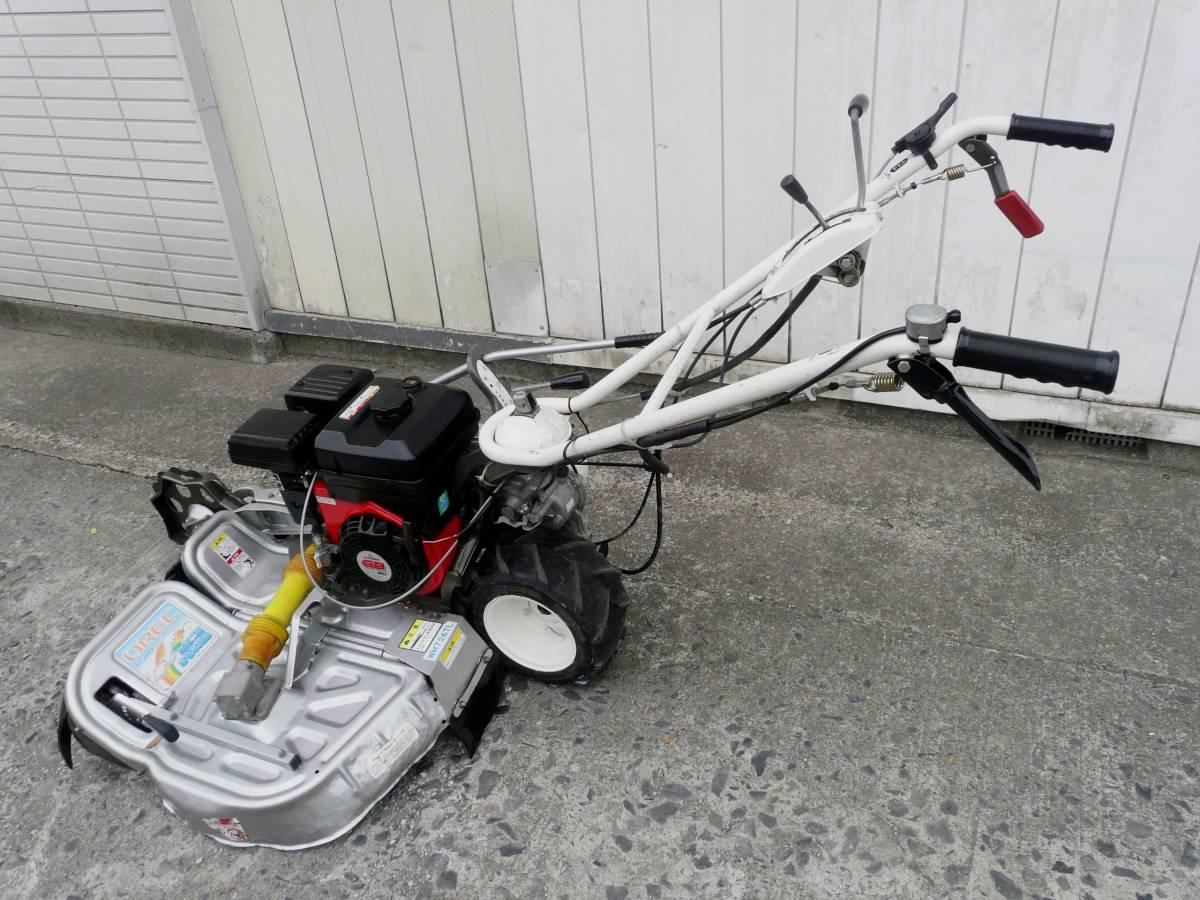 オーレック 自走式2面畦草刈機 ウィングモア WM726TL 滑りにくい2WD バックギア付き最大6.3馬力_画像2