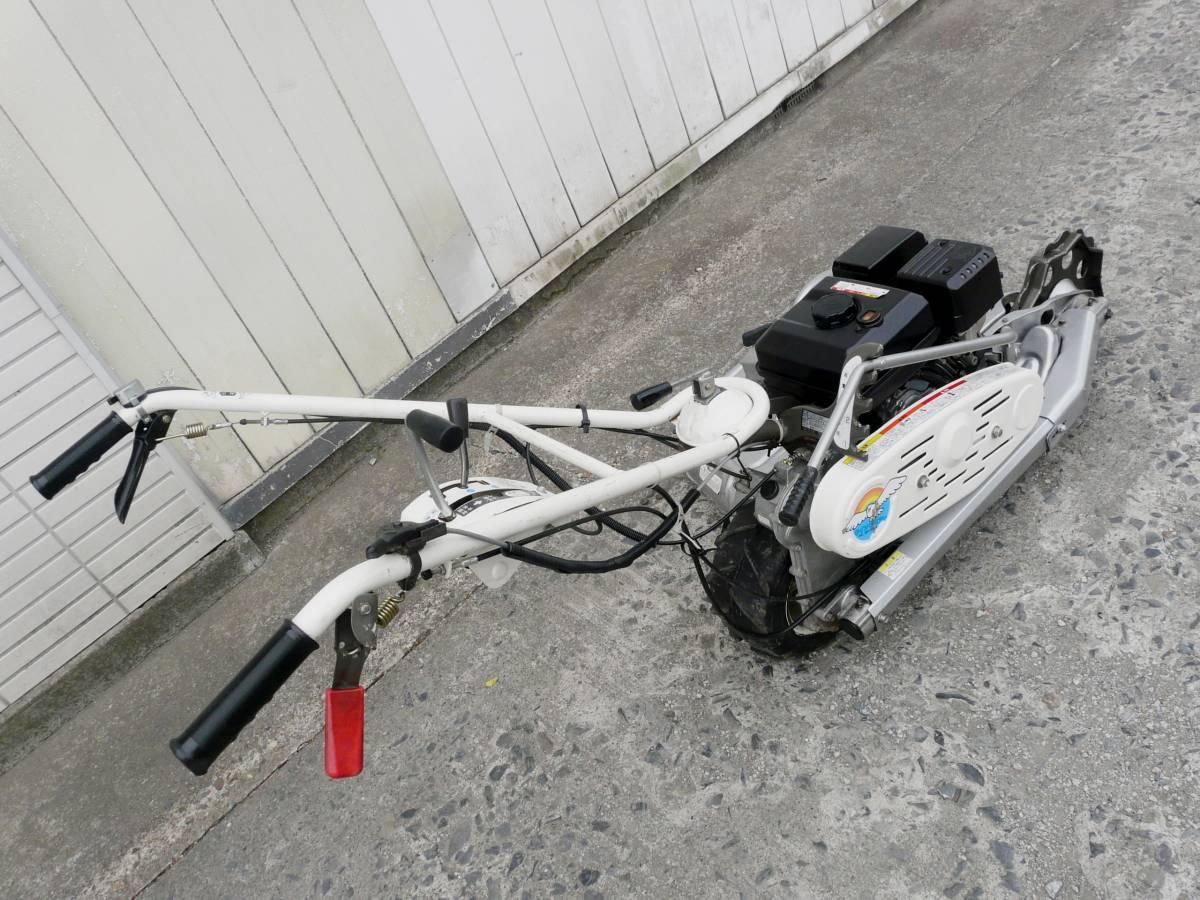 オーレック 自走式2面畦草刈機 ウィングモア WM726TL 滑りにくい2WD バックギア付き最大6.3馬力_画像4