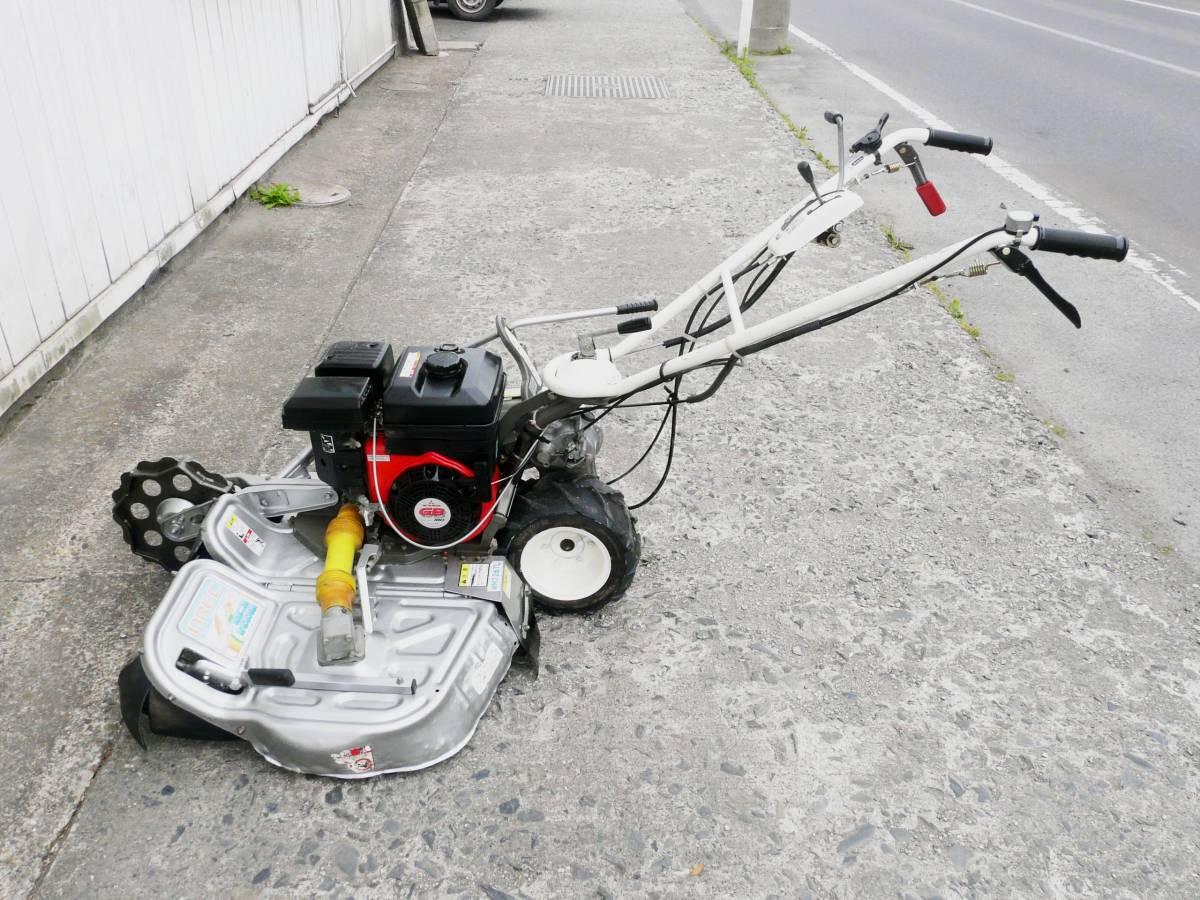 オーレック 自走式2面畦草刈機 ウィングモア WM726TL 滑りにくい2WD バックギア付き最大6.3馬力_画像5