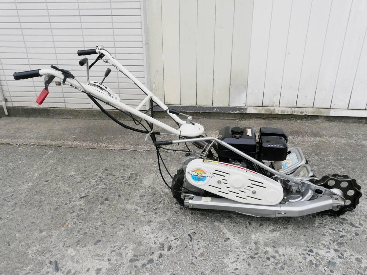 オーレック 自走式2面畦草刈機 ウィングモア WM726TL 滑りにくい2WD バックギア付き最大6.3馬力_画像6