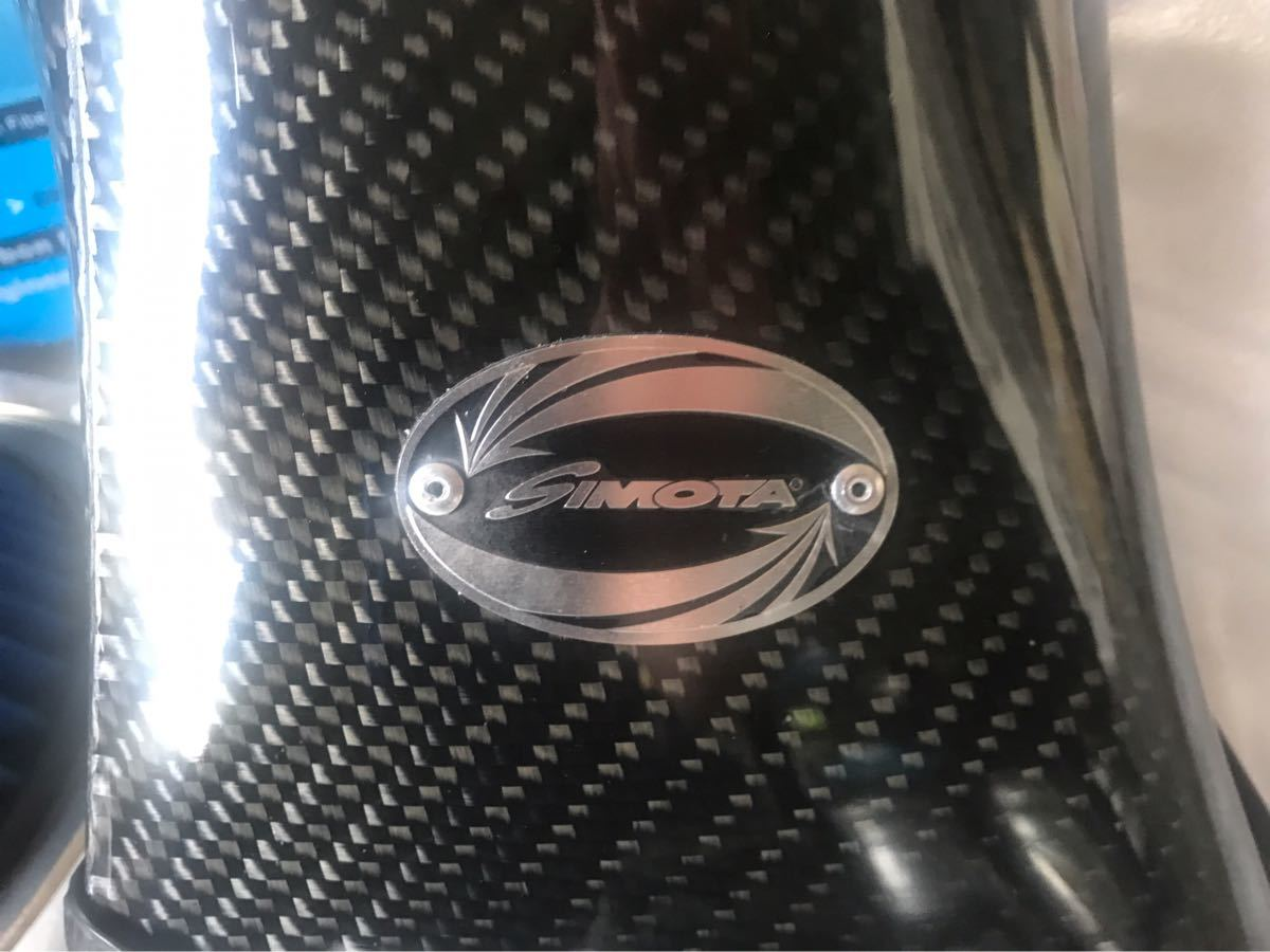 BMW E46 318i N42 N46 エンジン用 カーボン エアクリーナー ボックス simota k&n 新品_画像2