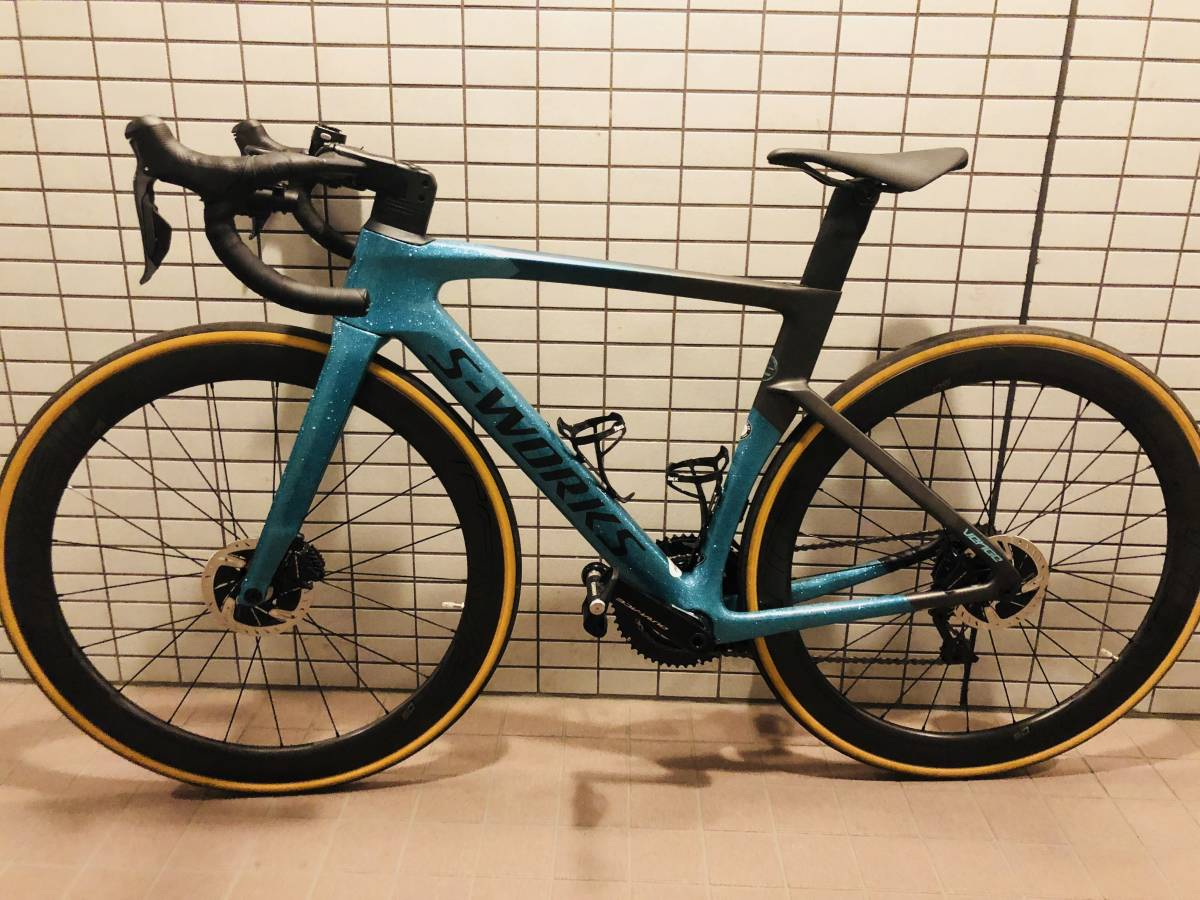 S-Works Venge Sagan Collection 52サイズ 中古 バラ完