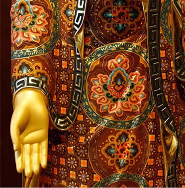 希少新品推薦!西洋三聖仏像 三尊立像 純銅製手工精巧細工工芸品 貴重供養品 _画像6