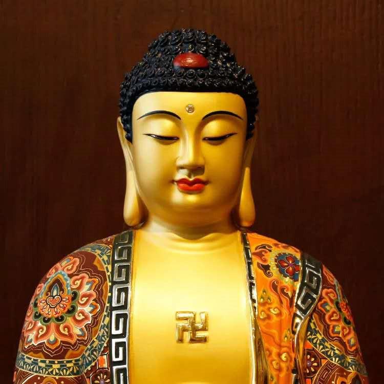 希少新品推薦!西洋三聖仏像 三尊立像 純銅製手工精巧細工工芸品 貴重供養品 _画像3