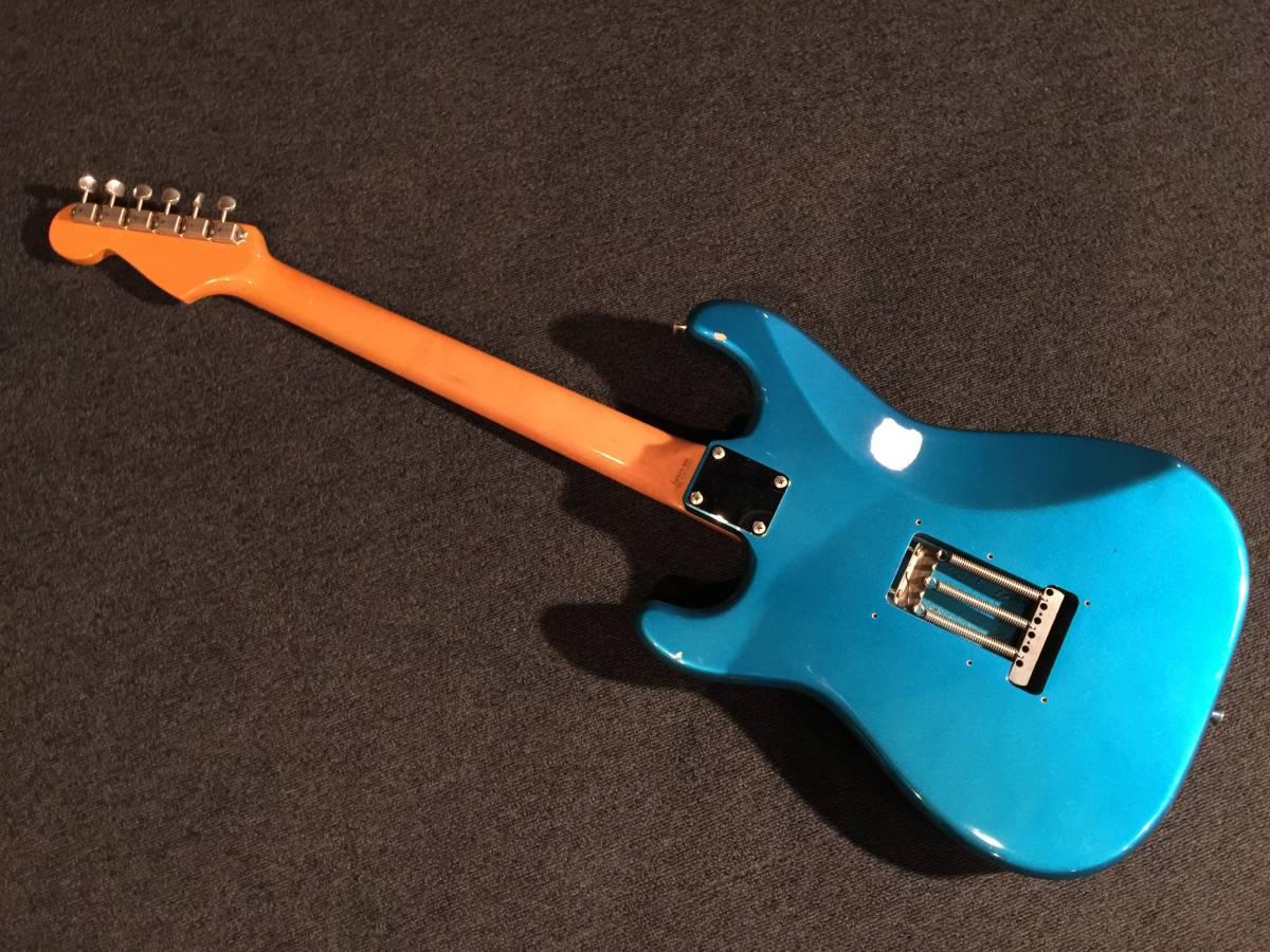 レア!生産完了! FenderJapan ST62TX LPB/R No.051919 MADE IN JAPAN _画像5