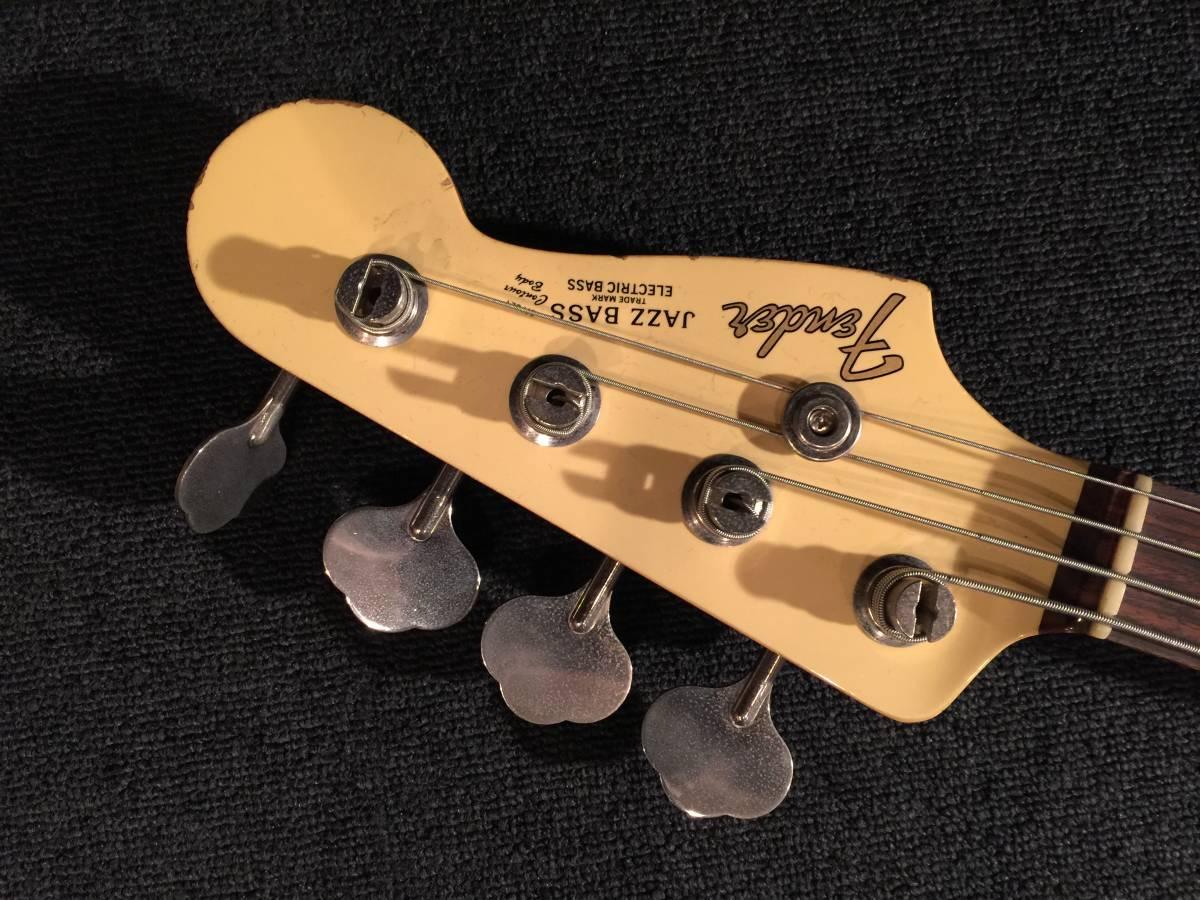 レア!マッチングヘッド!Fender Japan JB62US VWH/R No.036219 JAPAN VINTAGE_画像5