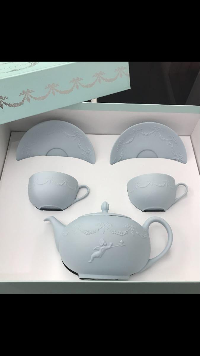 Laduree ラデュレ☆ロマンティックな天使のティーポットとカップ&ソーサのセット