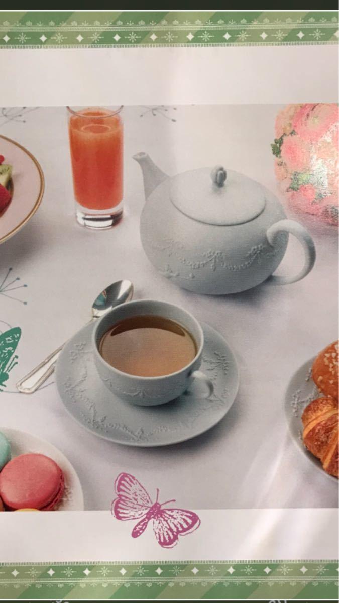Laduree ラデュレ☆ロマンティックな天使のティーポットとカップ&ソーサのセット_画像3