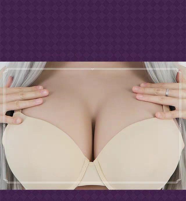 《Dカップ》全身 シリコン ラバー リアル フィメールマスク シリコンバスト 人口乳房 ボディスーツ 女装 コスプレ 変身 変装 _画像5