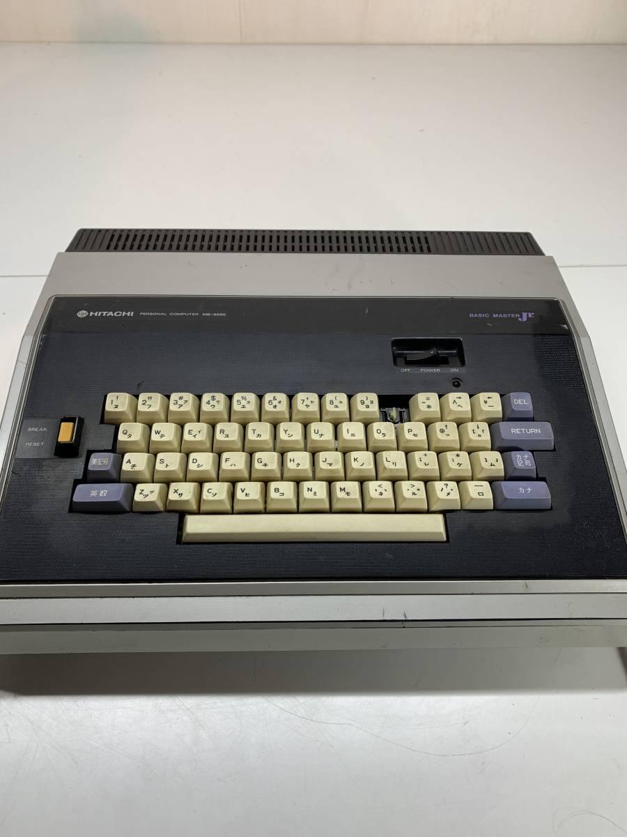 HITACHI 日立 MB-6885 ベーシックマスター ジュニア パーソナル コンピューター パソコン_画像4