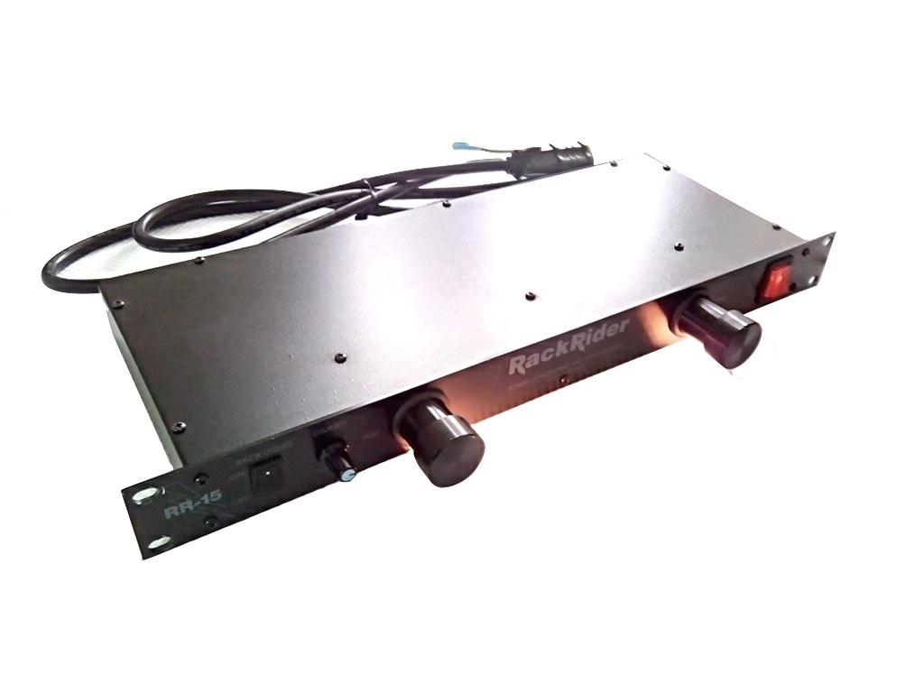 FURMAN 使用少 1U ラックマウント ライト モジュール付き パワーディストリビューター 電源 タップ 3ピン対応 8口 即決有り 管理番号FU