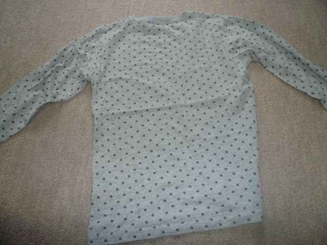 * grade to pattern long sleeve T shirt 140 centimeter *