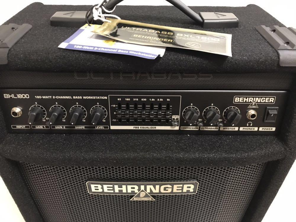 ベリンガー ベースアンプ ultrabass bxl1800_画像7