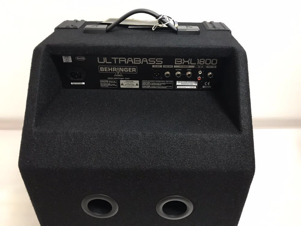 ベリンガー ベースアンプ ultrabass bxl1800_画像5