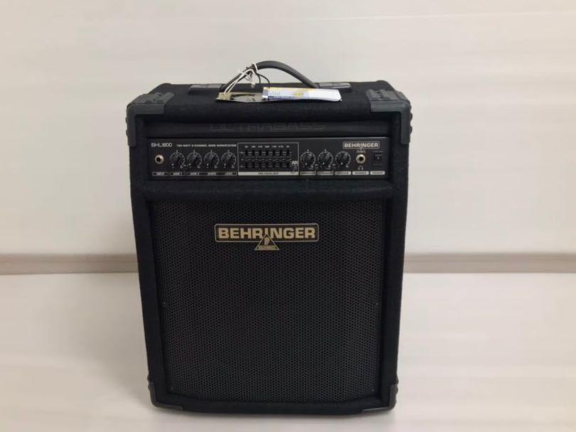 ベリンガー ベースアンプ ultrabass bxl1800_画像2