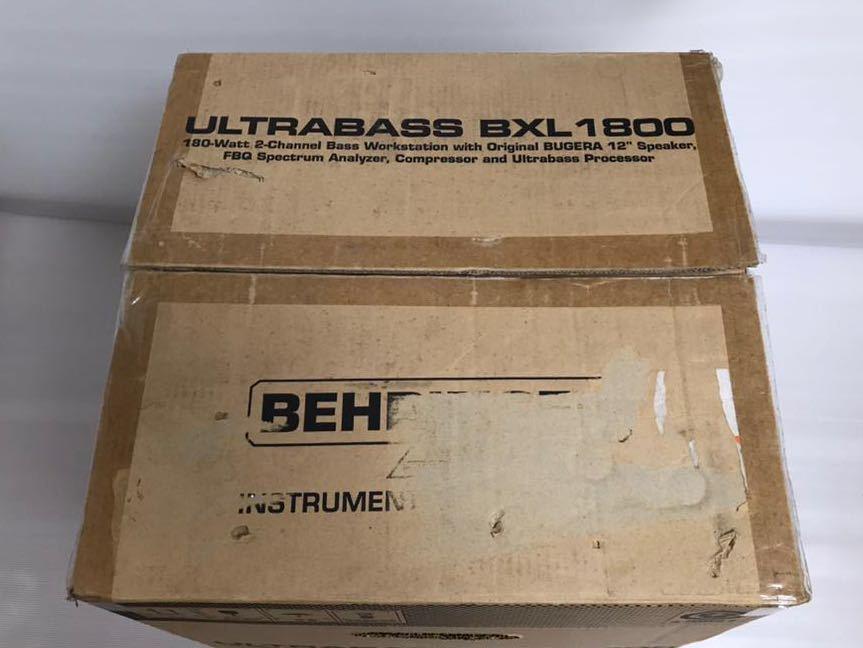 ベリンガー ベースアンプ ultrabass bxl1800_画像9