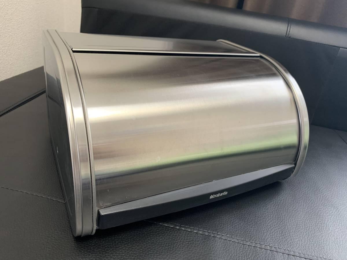 新品未使用 brabantiaブラバンシア ブレッドビン パン保存ボックス 調味料も♪_画像2