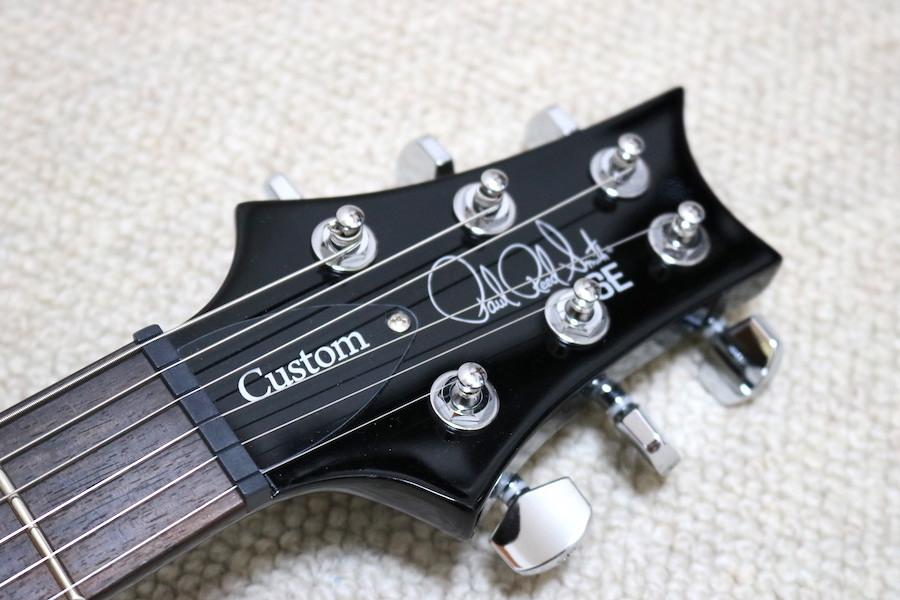 PRS PAUL REED SMITH ポールリードスミス ギター SE サファイヤ ストラップ付き ケース付き 2019年3月池部楽器プレミアムギターズ購入_画像8