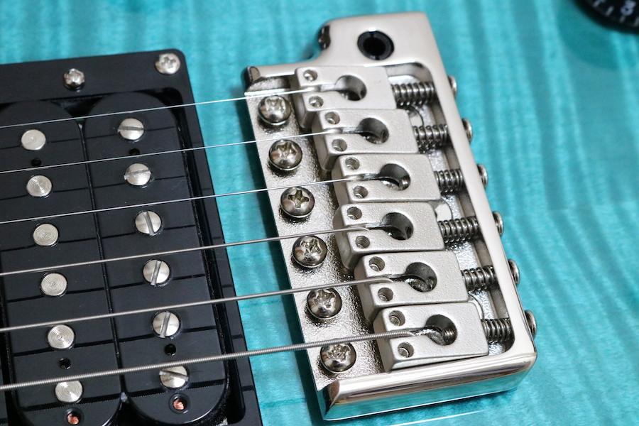 PRS PAUL REED SMITH ポールリードスミス ギター SE サファイヤ ストラップ付き ケース付き 2019年3月池部楽器プレミアムギターズ購入_画像5