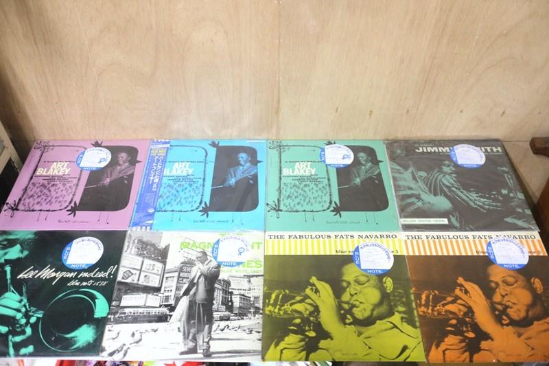 FJ25◆ジャズ LPレコード 8枚セットまとめて BLUE NOTE ブルーノート アートブレイキー等