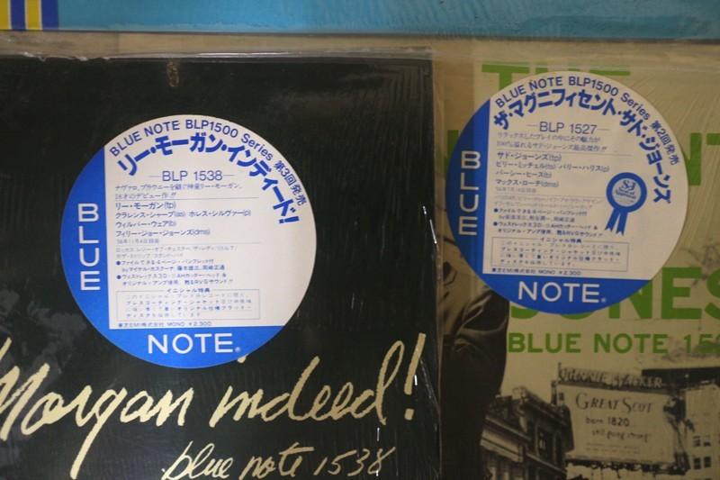 FJ25◆ジャズ LPレコード 8枚セットまとめて BLUE NOTE ブルーノート アートブレイキー等_画像4