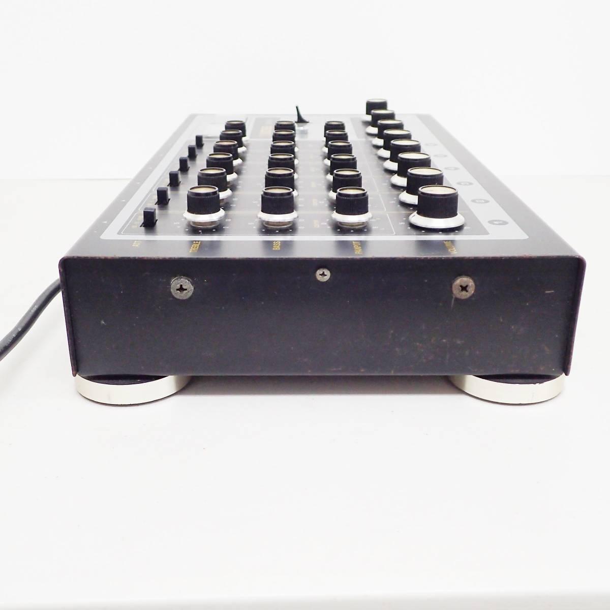 BOSS mixer KM-6A アナログ ミキサー Roland ローランド 通電確認済み  B01_画像5