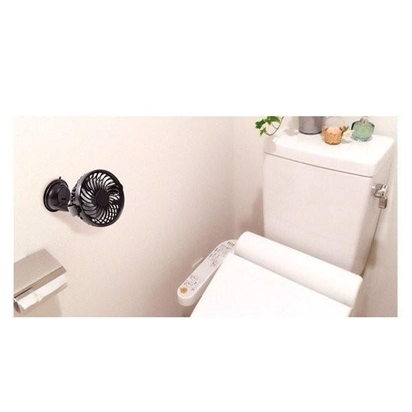 扇風機 ファン 壁掛け DCモーター USB 収納 卓上 クリップ おしゃれ 静音 小型 省エネ 節電 節約 充電 強力 サーキュレーター 送料無料_画像4