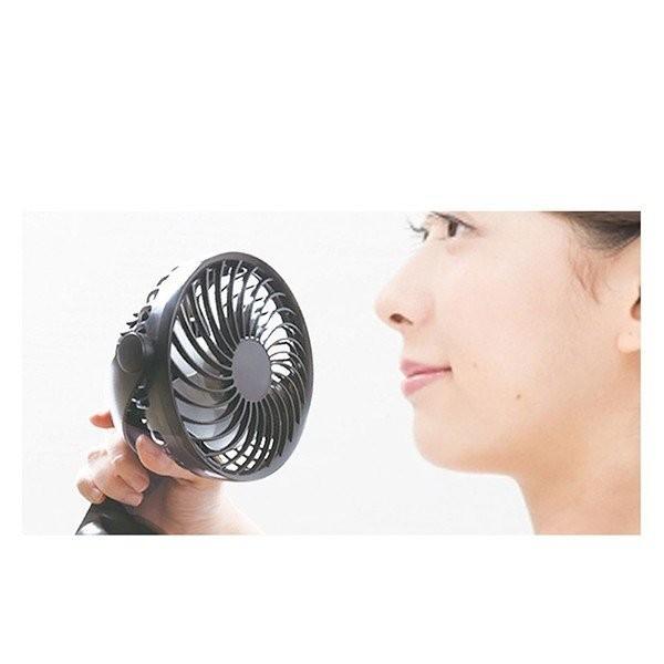 扇風機 ファン 壁掛け DCモーター USB 収納 卓上 クリップ おしゃれ 静音 小型 省エネ 節電 節約 充電 強力 サーキュレーター 送料無料_画像8