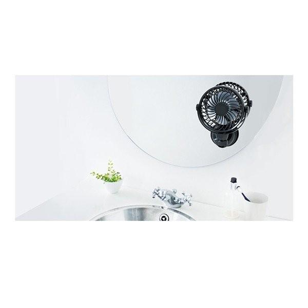 扇風機 ファン 壁掛け DCモーター USB 収納 卓上 クリップ おしゃれ 静音 小型 省エネ 節電 節約 充電 強力 サーキュレーター 送料無料_画像5