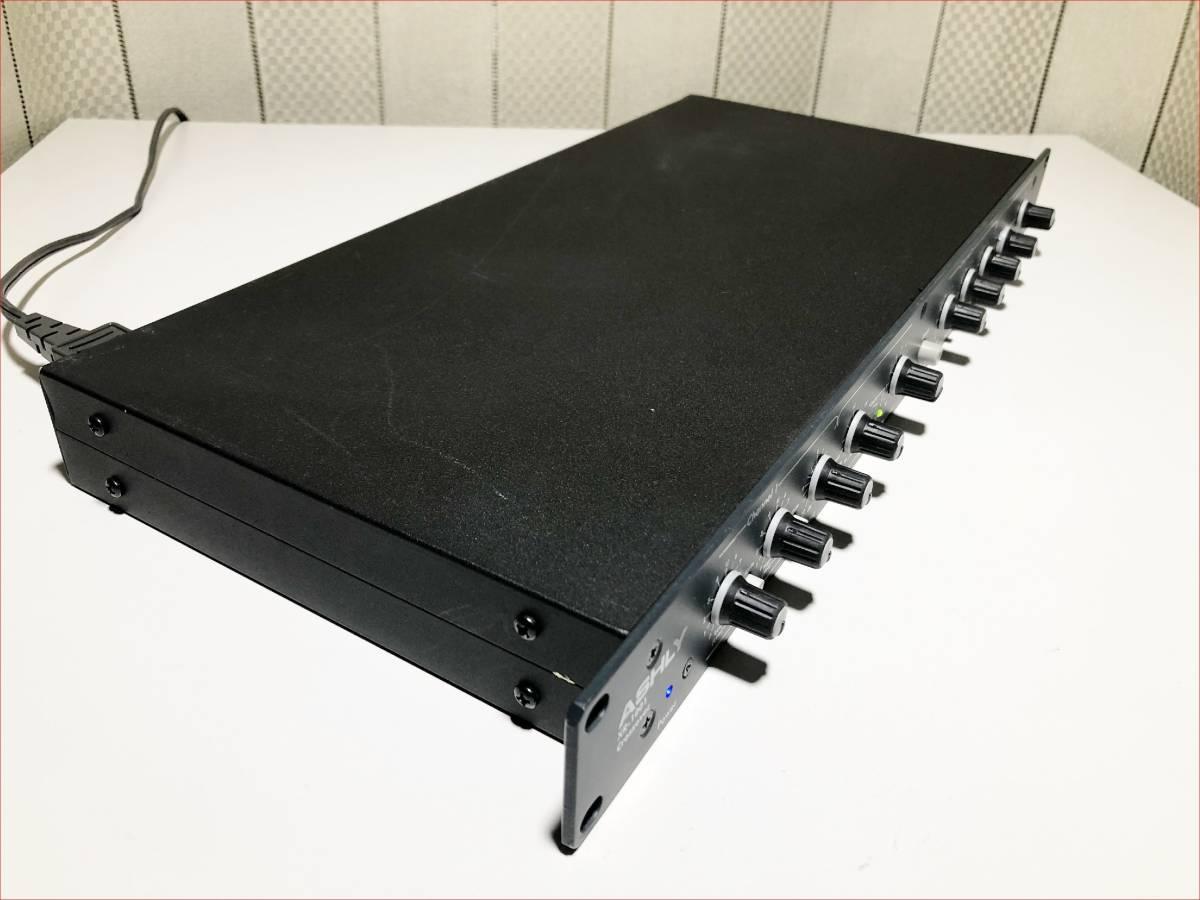 ASHLY XR-1001 中古動作品 USA製 チャンネルデバイダー クロスオーバー_画像4