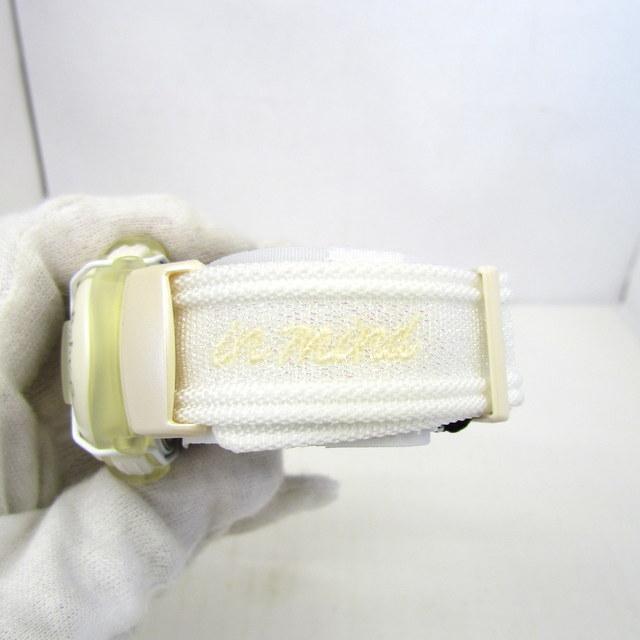 極美品 CASIO カシオ Baby-G ベイビージー ベビーG 腕時計 マルイ限定 5000個限定 BGT-110DMAR-7T デジタル クォーツ ホワイト RY4694_画像9