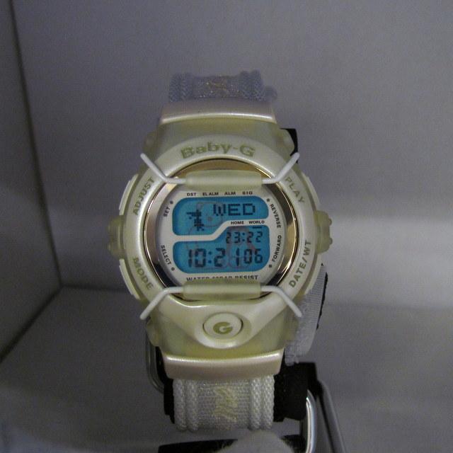 極美品 CASIO カシオ Baby-G ベイビージー ベビーG 腕時計 マルイ限定 5000個限定 BGT-110DMAR-7T デジタル クォーツ ホワイト RY4694_画像3