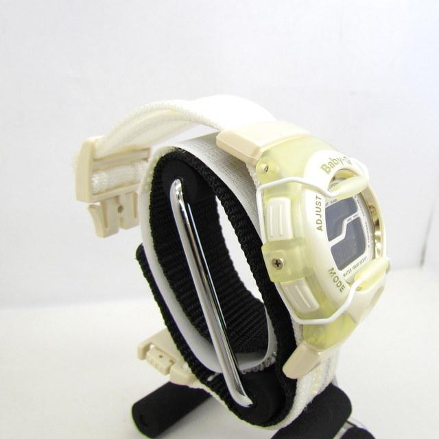極美品 CASIO カシオ Baby-G ベイビージー ベビーG 腕時計 マルイ限定 5000個限定 BGT-110DMAR-7T デジタル クォーツ ホワイト RY4694_画像4