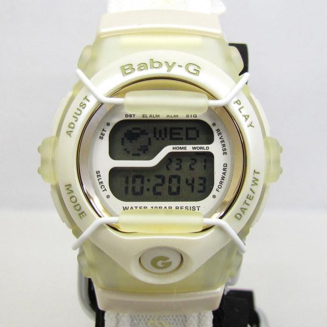 極美品 CASIO カシオ Baby-G ベイビージー ベビーG 腕時計 マルイ限定 5000個限定 BGT-110DMAR-7T デジタル クォーツ ホワイト RY4694_画像1