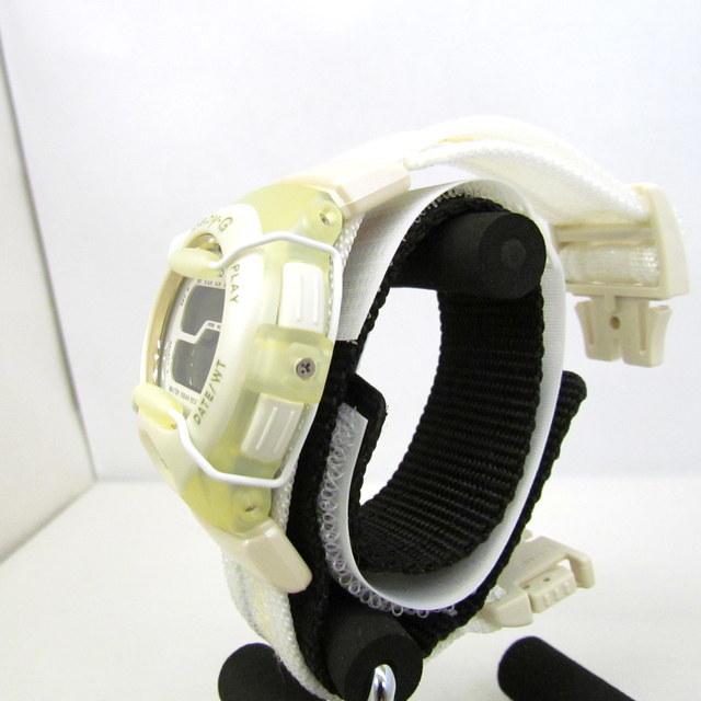 極美品 CASIO カシオ Baby-G ベイビージー ベビーG 腕時計 マルイ限定 5000個限定 BGT-110DMAR-7T デジタル クォーツ ホワイト RY4694_画像5