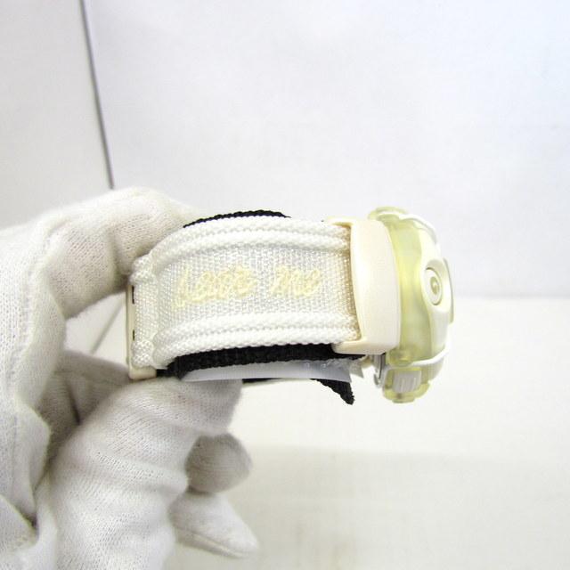 極美品 CASIO カシオ Baby-G ベイビージー ベビーG 腕時計 マルイ限定 5000個限定 BGT-110DMAR-7T デジタル クォーツ ホワイト RY4694_画像8
