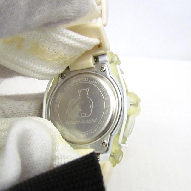 極美品 CASIO カシオ Baby-G ベイビージー ベビーG 腕時計 マルイ限定 5000個限定 BGT-110DMAR-7T デジタル クォーツ ホワイト RY4694_画像6