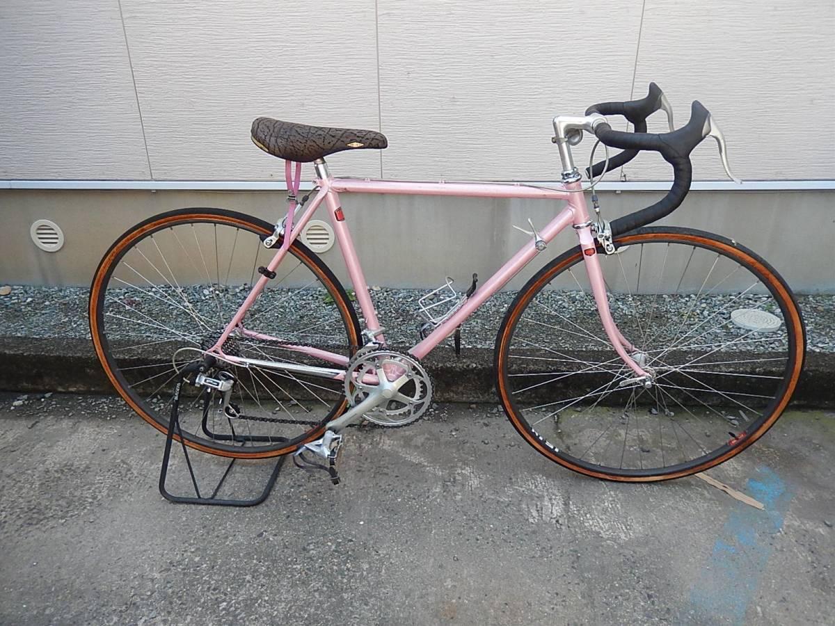 TANGE2 クロモリ ロードバイク 50cm 2x8s 乗車可能:並上車
