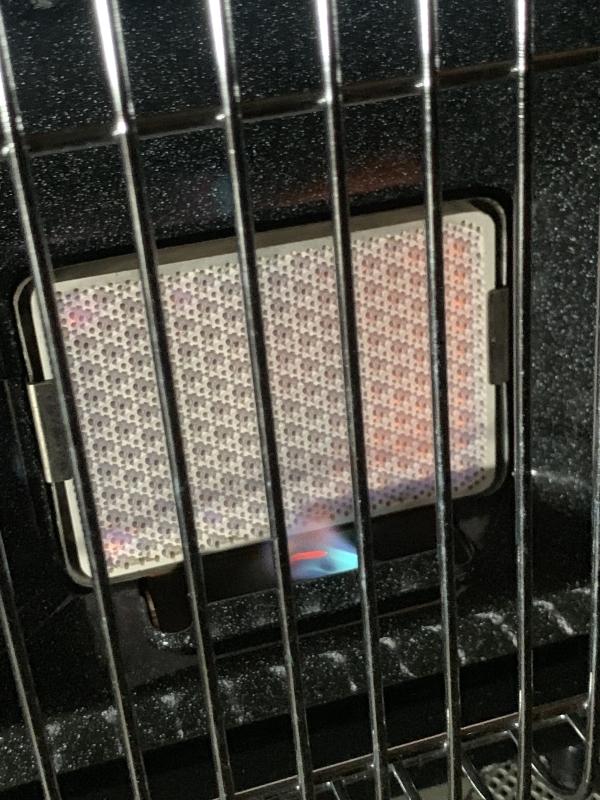 S:岩谷産業  Iwatani イワタニ CB-CGS-PTB カセットガスストーブ マイ暖 ポータブルタイプ 暖房機 動作品_画像2