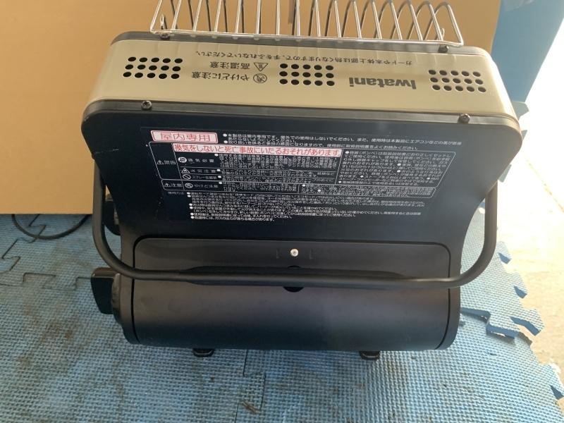 S:岩谷産業  Iwatani イワタニ CB-CGS-PTB カセットガスストーブ マイ暖 ポータブルタイプ 暖房機 動作品_画像7