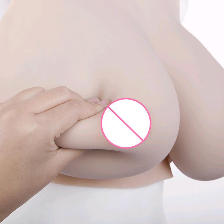 新品Bカップ リアル シリコン バスト人工乳房COS女装 乳房の中身はシリコンsizeB~Eカップ_画像2