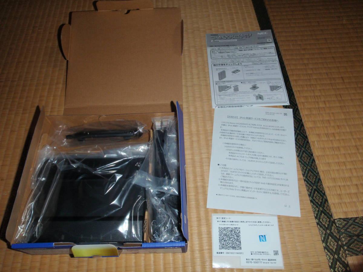 【未使用】 PA-WG2600HP3 NEC AtermWG2600HP3 _画像2