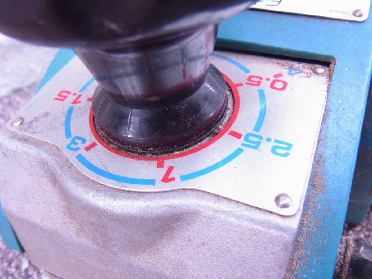 (73)*動作確認済♪ マキタ 110mm 曲面カンナ 1003B-A 有効切削幅110mm 中古品♪③_画像3