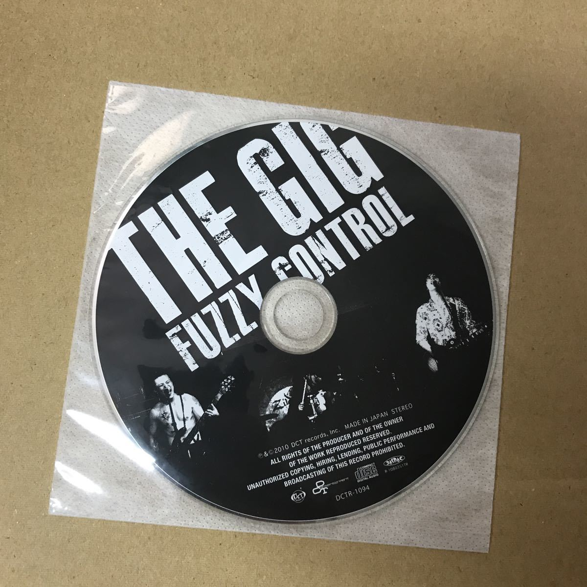【紙ジャケCD】FUZZY CONTROL / THE GIG_画像3