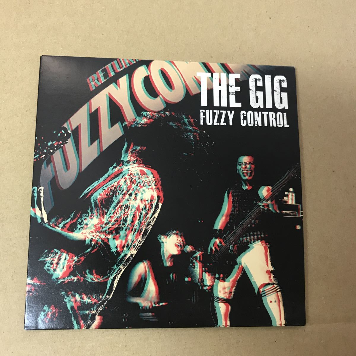【紙ジャケCD】FUZZY CONTROL / THE GIG_画像1