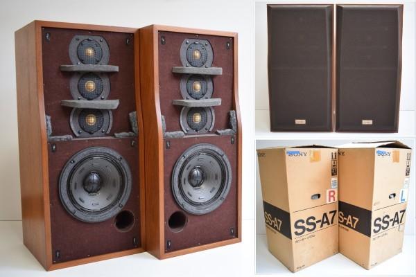 希少 ほぼ未使用 美品 SONY ソニー SS-A7 ペア スピーカー 直接引取可 元箱 La Voce バスレフ 音響 K-16